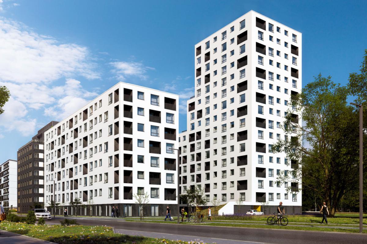 Nowe Centrum Południowe Etap III - Wrocław, Południe, ul. Gwiaździsta, GPI Wrocław Sp z o. o. - zdjęcie 2