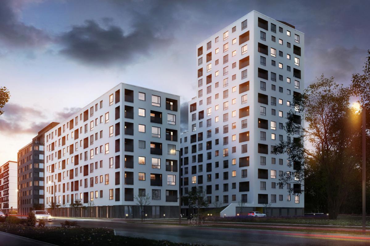 Nowe Centrum Południowe Etap III - Wrocław, Południe, ul. Gwiaździsta, GPI Wrocław Sp z o. o. - zdjęcie 5