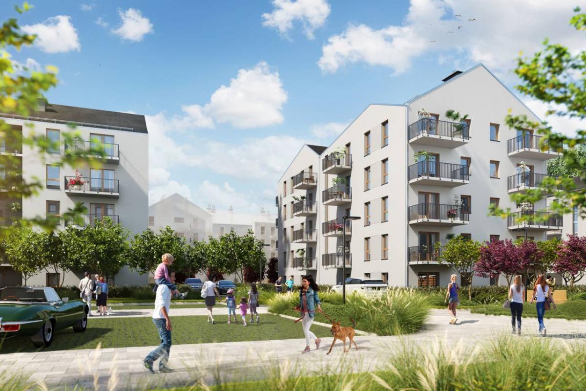 Osiedle ENTER - Poznań, Naramowice, ul. Sielawy, Echo Investment S.A. - zdjęcie 2