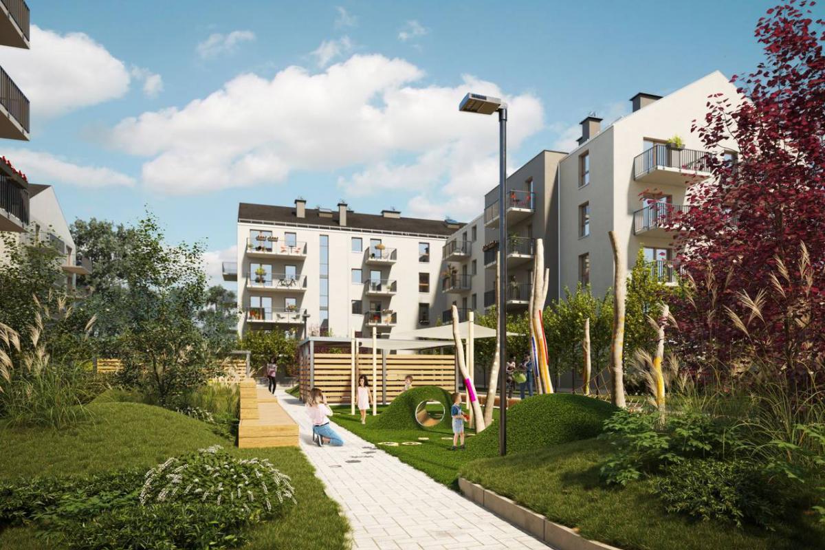 Osiedle ENTER - Poznań, Naramowice, ul. Sielawy, Echo Investment S.A. - zdjęcie 5