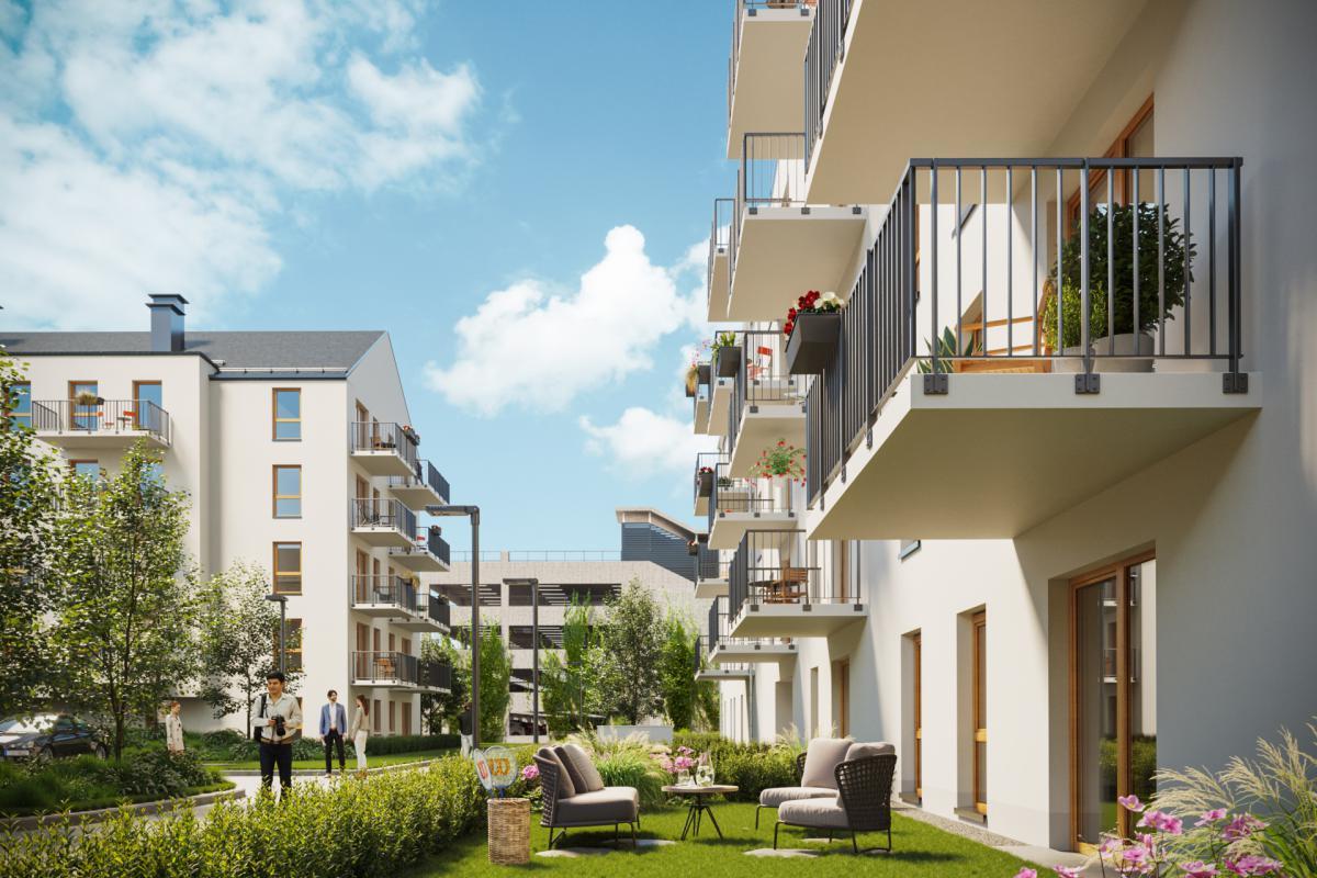 Osiedle ENTER - Poznań, Naramowice, ul. Sielawy, Echo Investment S.A. - zdjęcie 1
