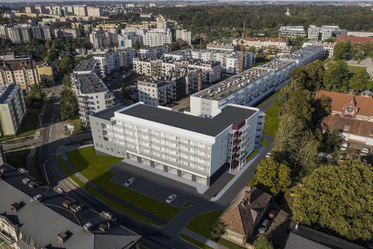 ul. Lewandowskiego - etap IV - Szczecin, Nowe Miasto, ul. Lewandowskiego, BUDNEX DEWELOPER Sp. z o.o. - zdjęcie 2