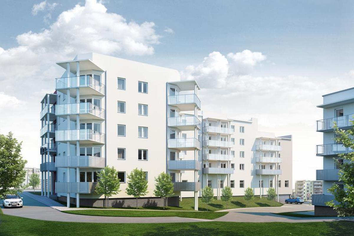 ul. Lewandowskiego - etap IV - Szczecin, Nowe Miasto, ul. Lewandowskiego, BUDNEX DEWELOPER Sp. z o.o. - zdjęcie 3