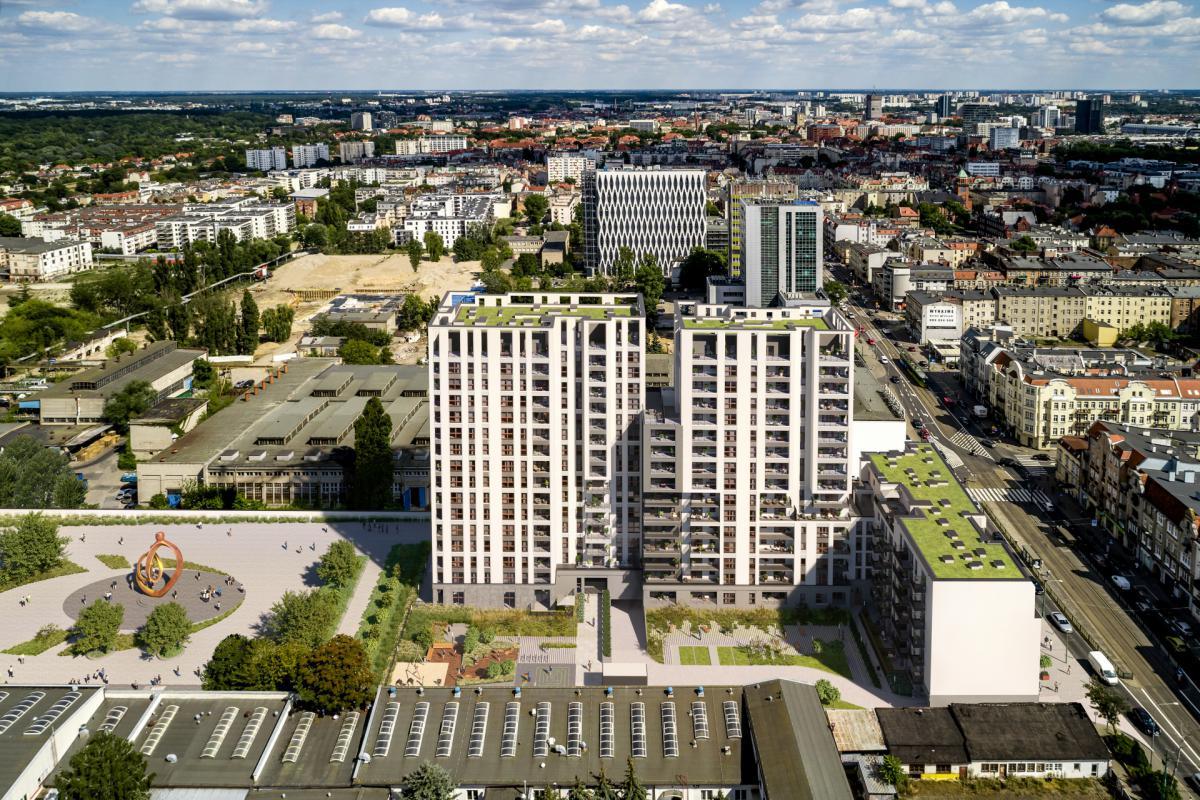 Famma Dąbrowskiego - Poznań, ul. Dąbrowskiego 87-89, Budimex Nieruchomości Sp. z o.o. - zdjęcie 2