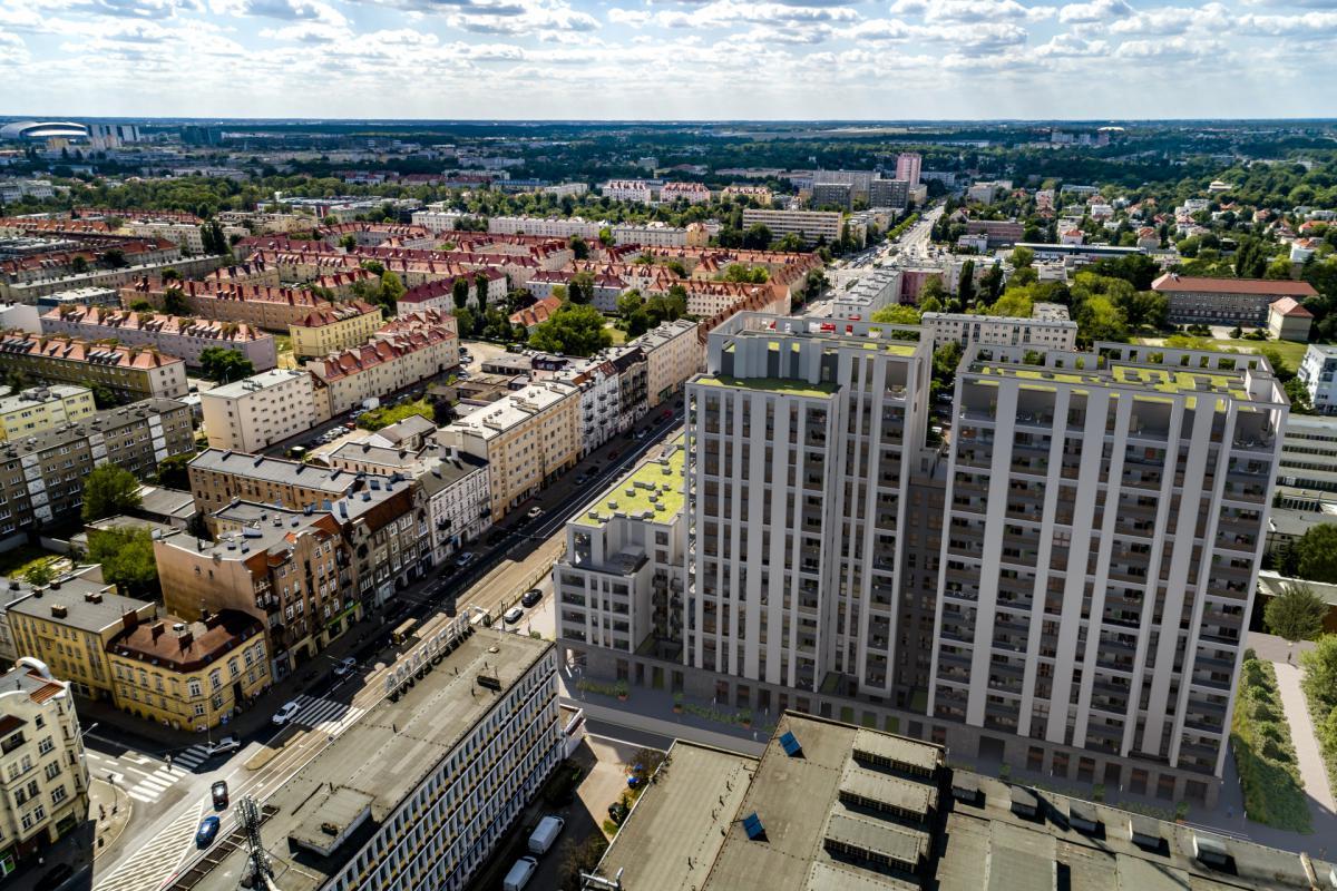 Famma Dąbrowskiego - Poznań, ul. Dąbrowskiego 87-89, Budimex Nieruchomości Sp. z o.o. - zdjęcie 3