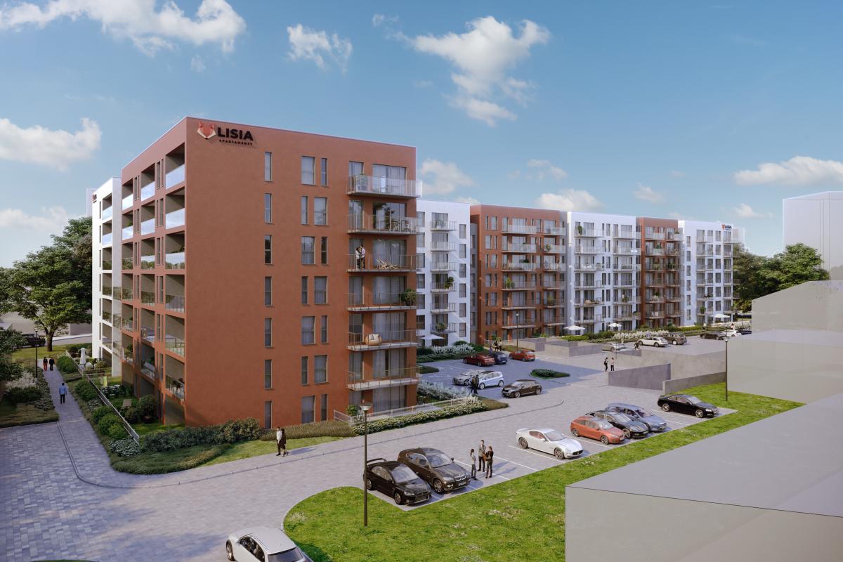 Lisia Apartamenty - Zielona Góra, ul. Lisia 12-14-16, EBF DEVELOPMENT Sp. z o.o. Sp.k. - zdjęcie 1