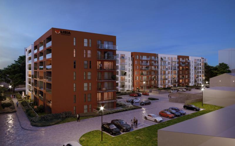 Lisia Apartamenty - Zielona Góra, ul. Lisia 12-14-16, EBF DEVELOPMENT Sp. z o.o. Sp.k. - zdjęcie 2