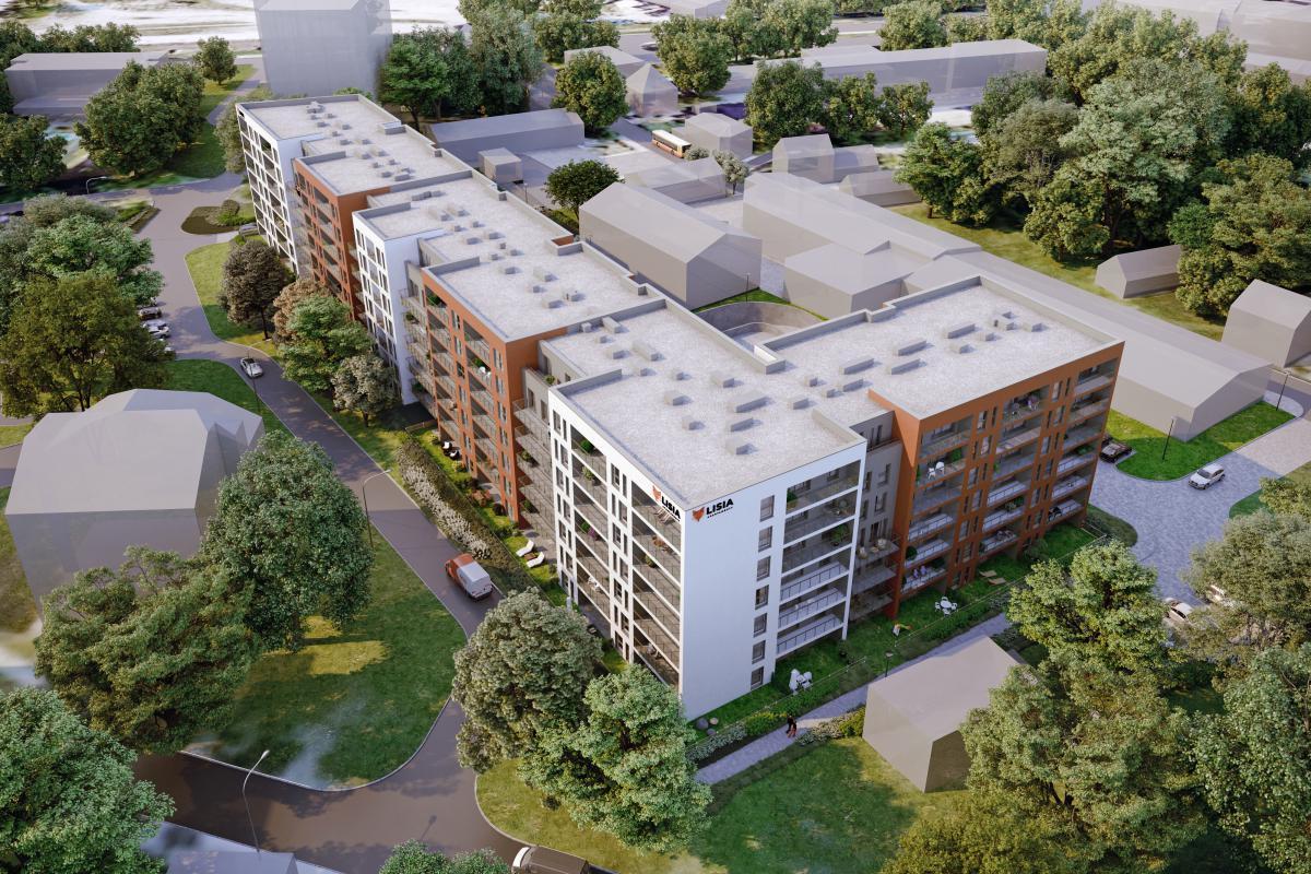 Lisia Apartamenty - Zielona Góra, ul. Lisia 12-14-16, EBF DEVELOPMENT Sp. z o.o. Sp.k. - zdjęcie 4