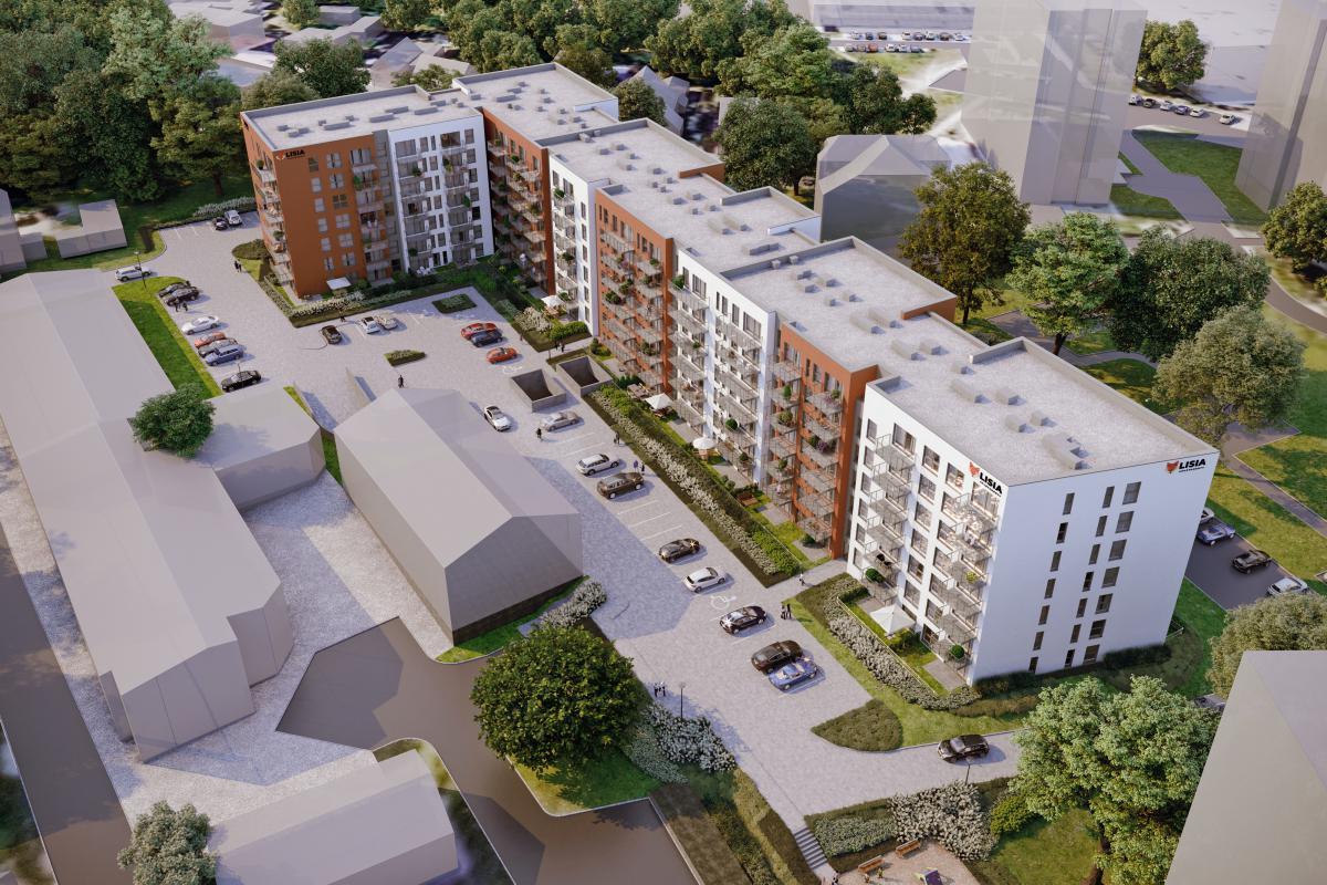 Lisia Apartamenty - Zielona Góra, ul. Lisia 12-14-16, EBF DEVELOPMENT Sp. z o.o. Sp.k. - zdjęcie 5