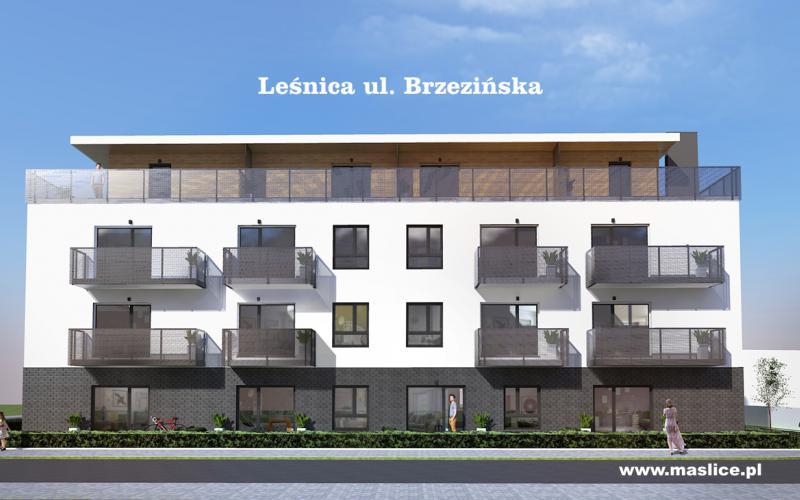 Leśnica, ul. Brzezińska - Wrocław, Leśnica, ul. Brzezińska, Spółdzielnia Budowlano-Mieszkaniowa Maślice - zdjęcie 2