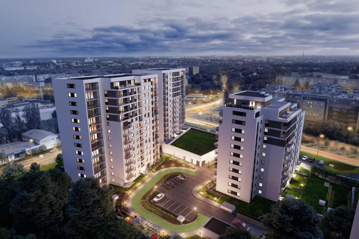Nowych Kosmonautów - Poznań, Winogrady, ul. Serbska/Naramowicka, Monday Development Sp. z o.o.  - zdjęcie 1