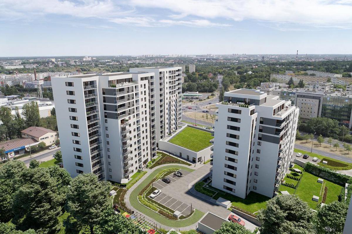 Nowych Kosmonautów - Poznań, Winogrady, ul. Serbska/Naramowicka, Monday Development Sp. z o.o.  - zdjęcie 5