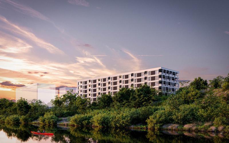 Widok Warta - Poznań, Starołęka, Ul. Starołęcka 34, Premium Properties 2 Spółka z ograniczoną odpowiedzialnością - zdjęcie 2