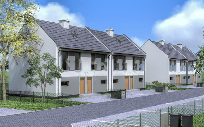 Osiedle Przyjazne etap II - Dachowa, ul. Olimpijska, R.F. Construction Sp. z o.o.  - zdjęcie 1