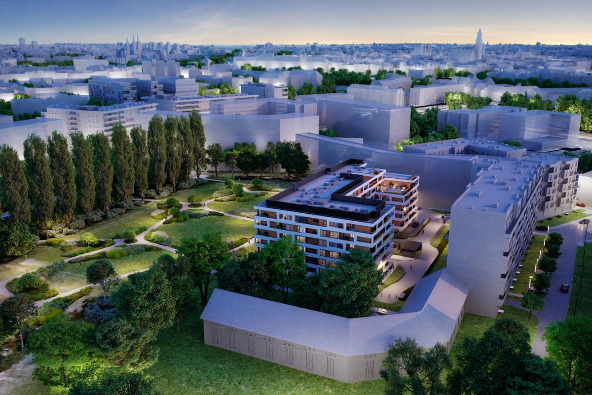 Kępa Park - Wrocław, Kępa Mieszczańska, ul. Dmowskiego 21, ATC Development Sp. z o.o. - zdjęcie 4