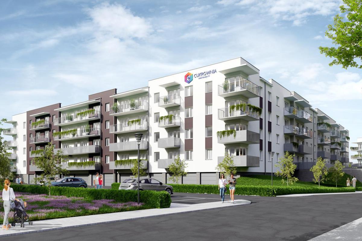 Cukrownia Apartamenty - Szczecin, Gumieńce, ul. Floriana Krygiera, BUDNEX DEWELOPER Sp. z o.o. - zdjęcie 1
