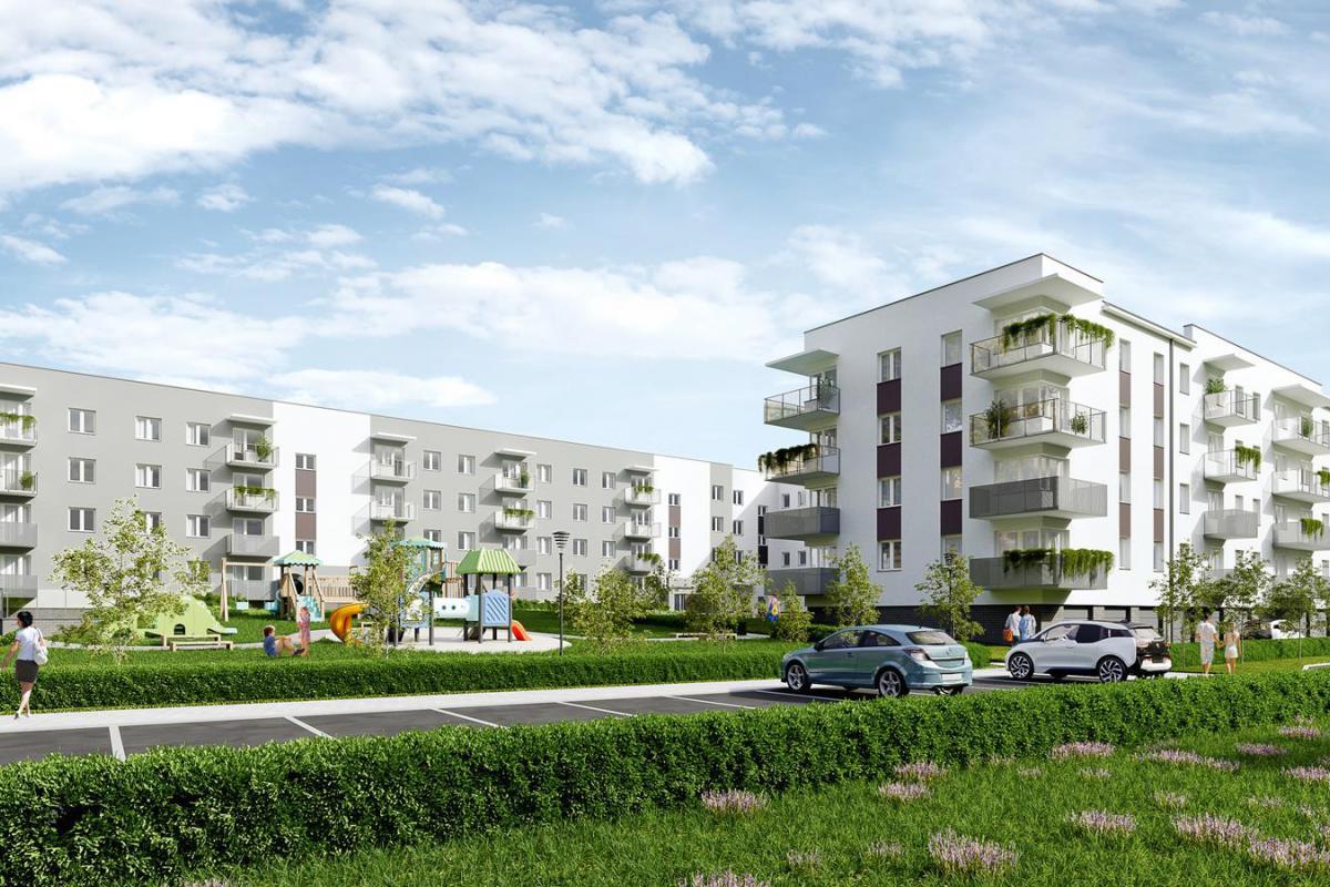 Cukrownia Apartamenty - Szczecin, Gumieńce, ul. Floriana Krygiera, BUDNEX DEWELOPER Sp. z o.o. - zdjęcie 2