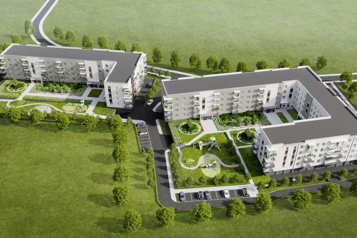 Cukrownia Apartamenty - Szczecin, Gumieńce, ul. Floriana Krygiera, BUDNEX DEWELOPER Sp. z o.o. - zdjęcie 3