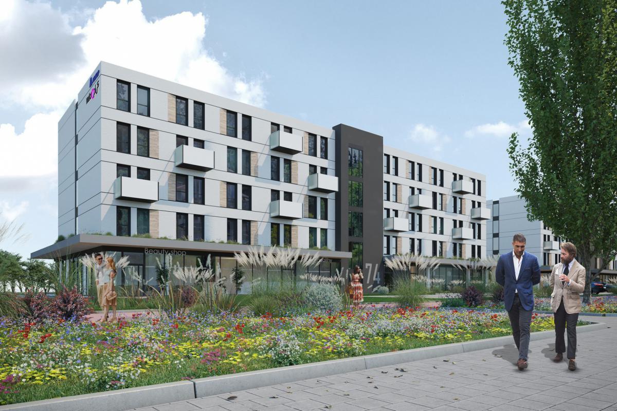 Apartamenty MIKROPLUS - Wrocław, Nowy Dwór, ul. Żernicka 74, ARKOP Krzysztof Pianowski - zdjęcie 1