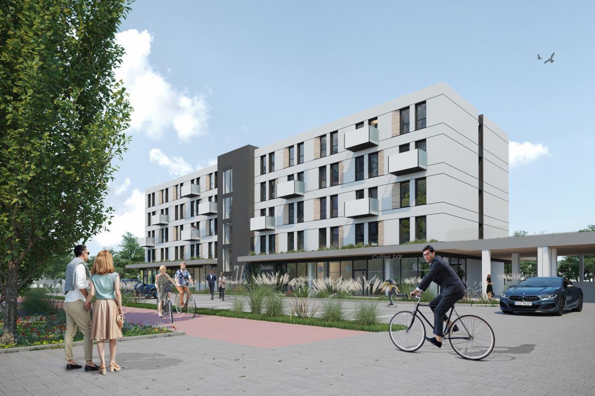 Apartamenty MIKROPLUS - Wrocław, Nowy Dwór, ul. Żernicka 74, ARKOP Krzysztof Pianowski - zdjęcie 2