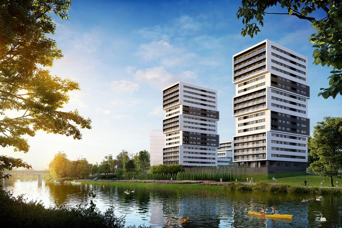 Aura Towers - Bydgoszcz, Bartodzieje, ul. Fordońska, JHM Development S.A. - zdjęcie 1