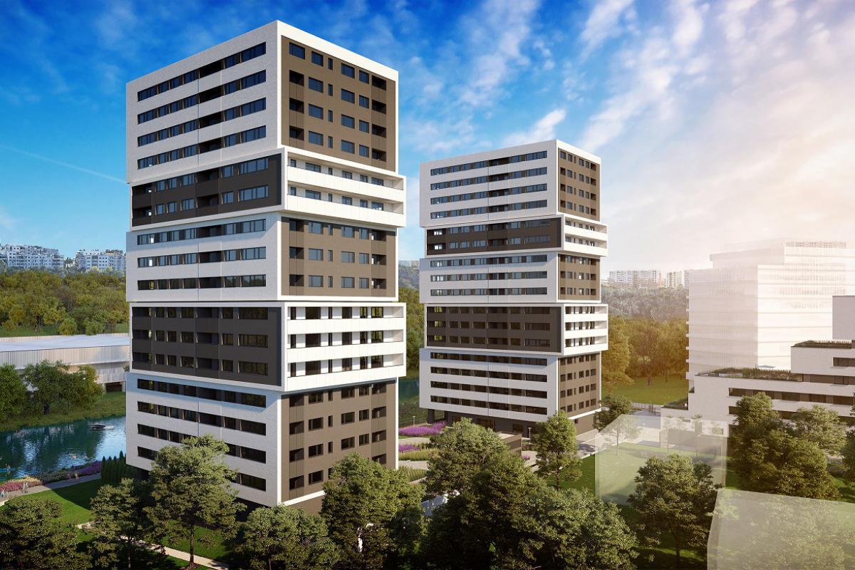 Aura Towers - Bydgoszcz, Bartodzieje, ul. Fordońska, JHM Development S.A. - zdjęcie 2