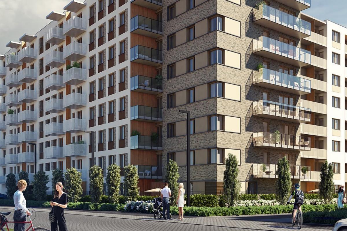 Nowy Grabiszyn III - Wrocław, Grabiszyn, ul. Grabiszyńska, Budimex Nieruchomości Sp. z o.o. - zdjęcie 3