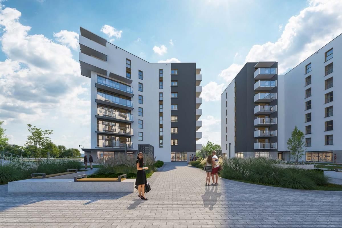 Apartamenty Dmowskiego II - Poznań, Górczyn, ul. Krauthofera 22, Atal S.A. - zdjęcie 1