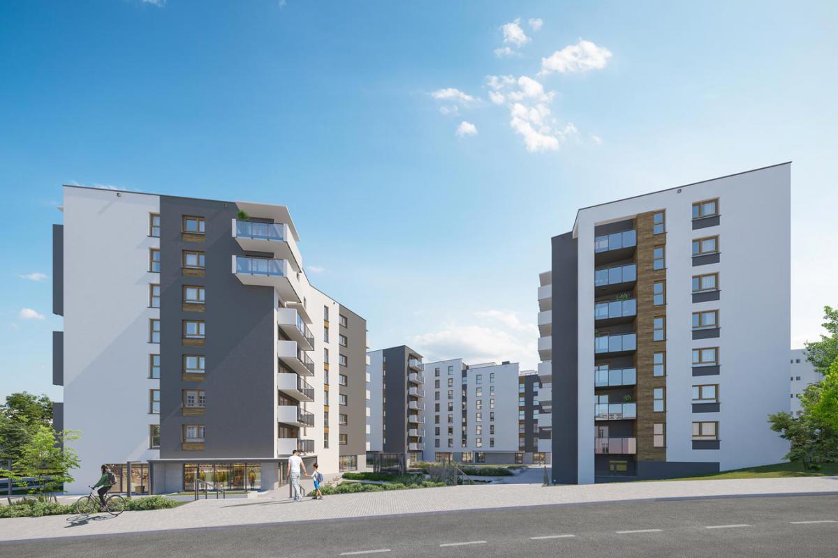 Apartamenty Dmowskiego II - Poznań, Górczyn, ul. Krauthofera 22, Atal S.A. - zdjęcie 2