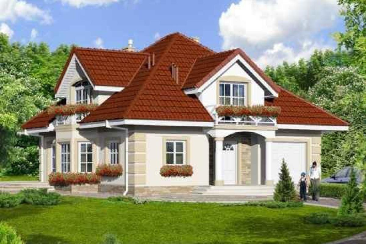 Osiedle domków jednorodzinnych - Toruń, ul. Polna, Przedsiębiorstwo Remontowo-Budowlane AGAD - zdjęcie 1