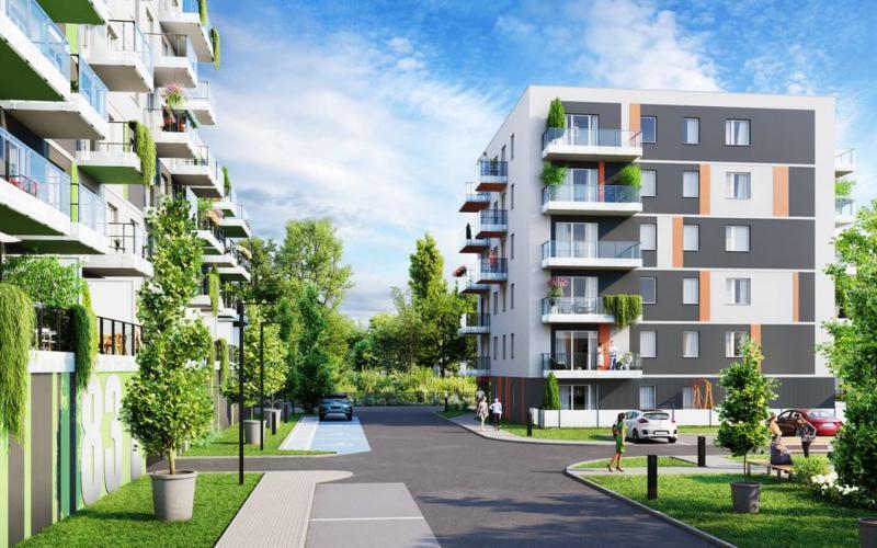 Osiedle Kościuszki - Chorzów, ul. Kościuszki, J.W. Construction Holding S.A. - zdjęcie 3