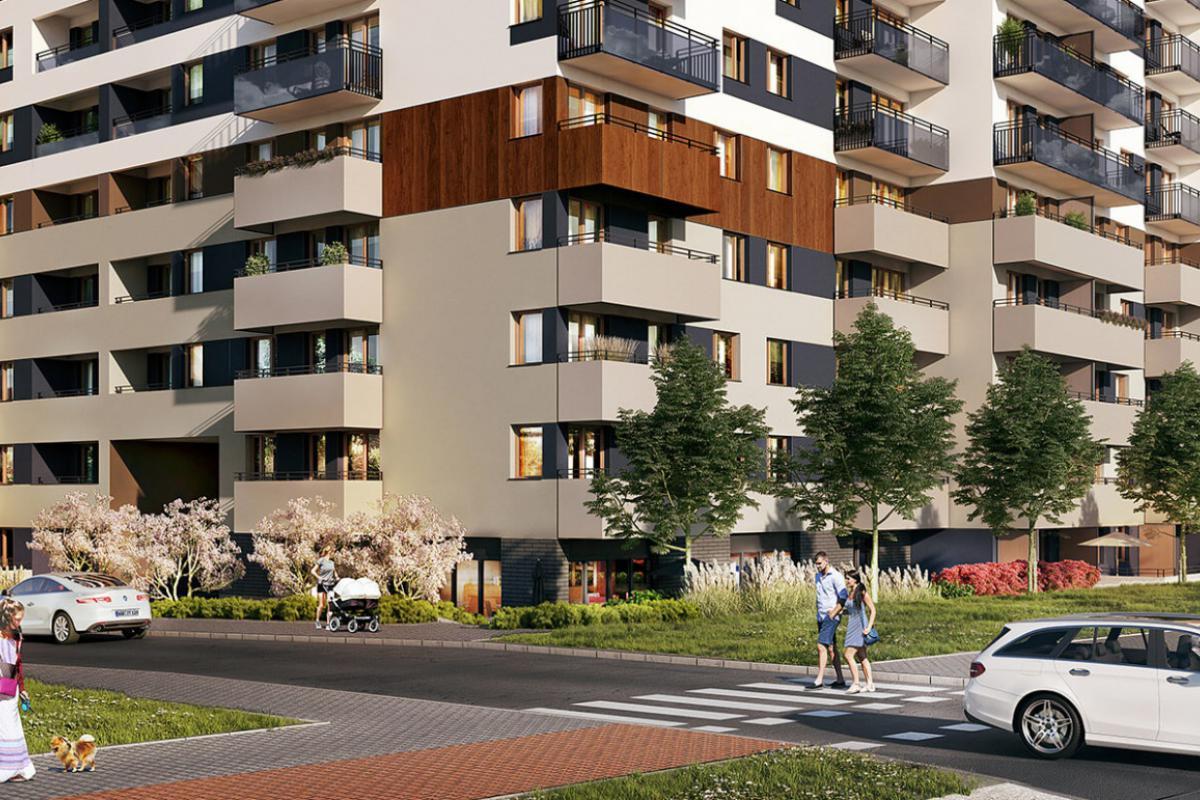 Osiedle przy Unii - Poznań, Starołęka, ul. Unii Lubelskiej, Spravia - zdjęcie 3