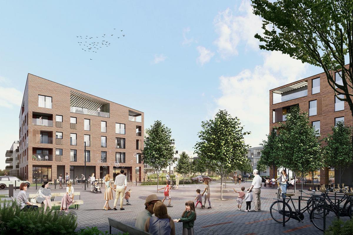 Nordic Bemowo - Warszawa, ul. Lazurowa, YIT Development Sp. z o.o. - zdjęcie 1