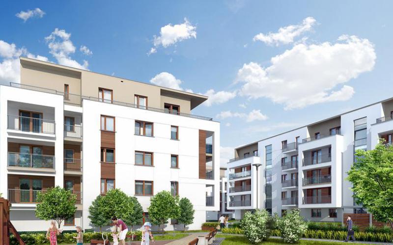Osiedle Jaśminowe - Poznań, Naramowice, ul. Karpia / Sielawy, Echo Investment S.A. - zdjęcie 1