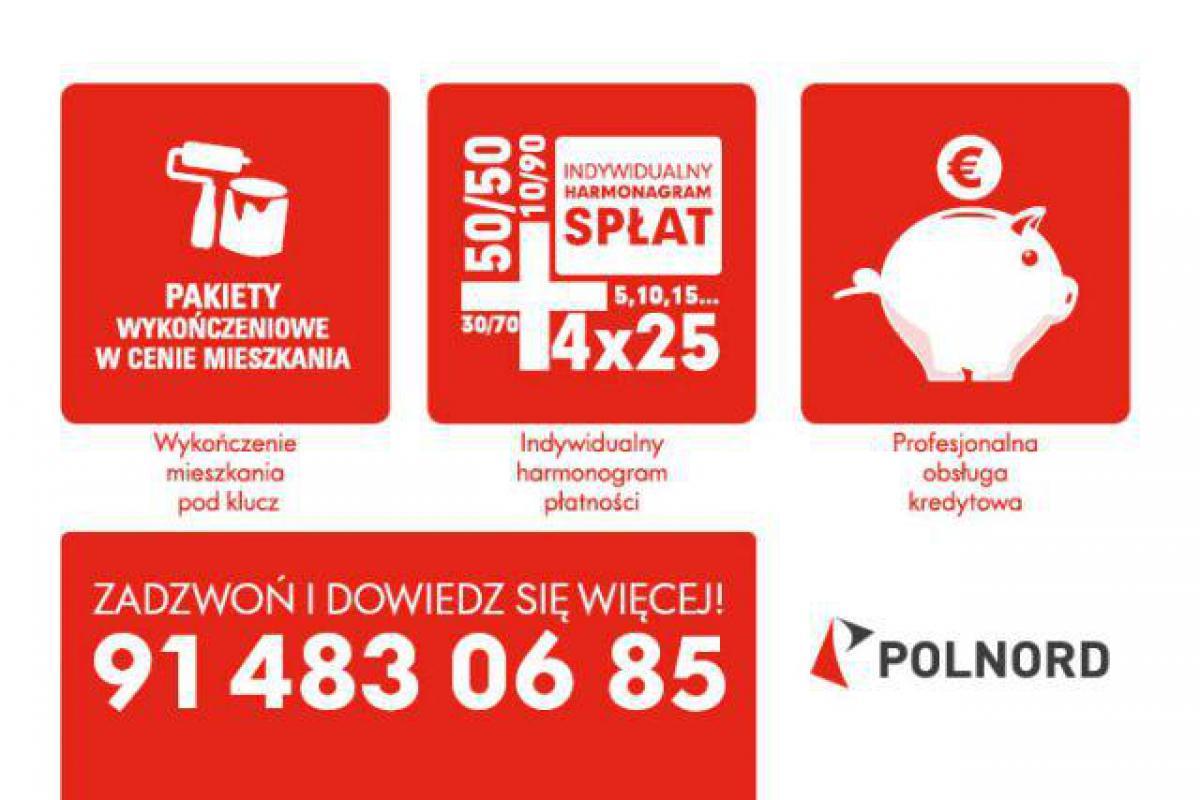 Ku Słońcu II - inwestycja wyprzedana - Szczecin, Gumieńce, ul. Kazimierska 1, Polnord S.A. - zdjęcie 18