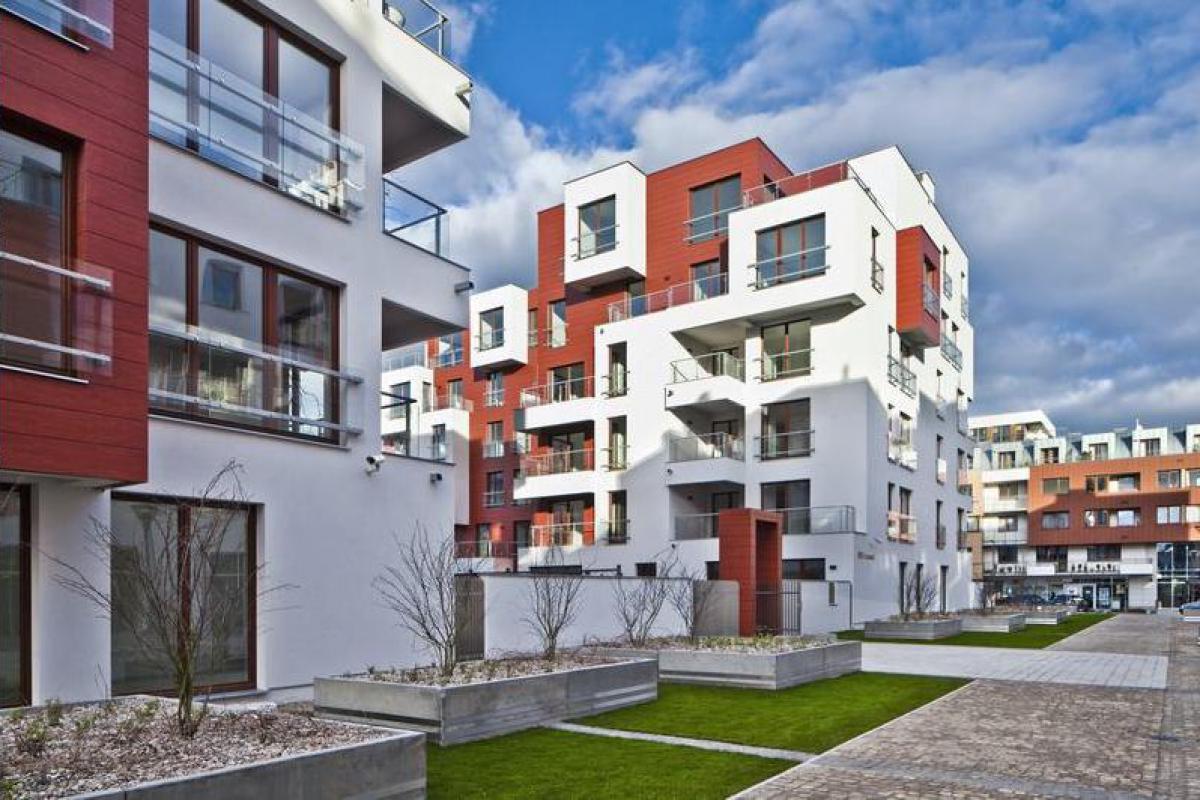 Avangard Apartamenty - Gdańsk, Młyniska, ul. Słonimskiego, Grupa Inwestycyjna Hossa S.A. - zdjęcie 1