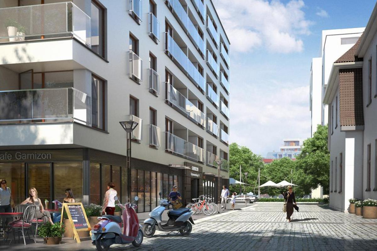 Garnizon Lofty & Apartamenty - Gdańsk, Wrzeszcz, ul. Szymanowskiego, Grupa Inwestycyjna Hossa S.A. - zdjęcie 4