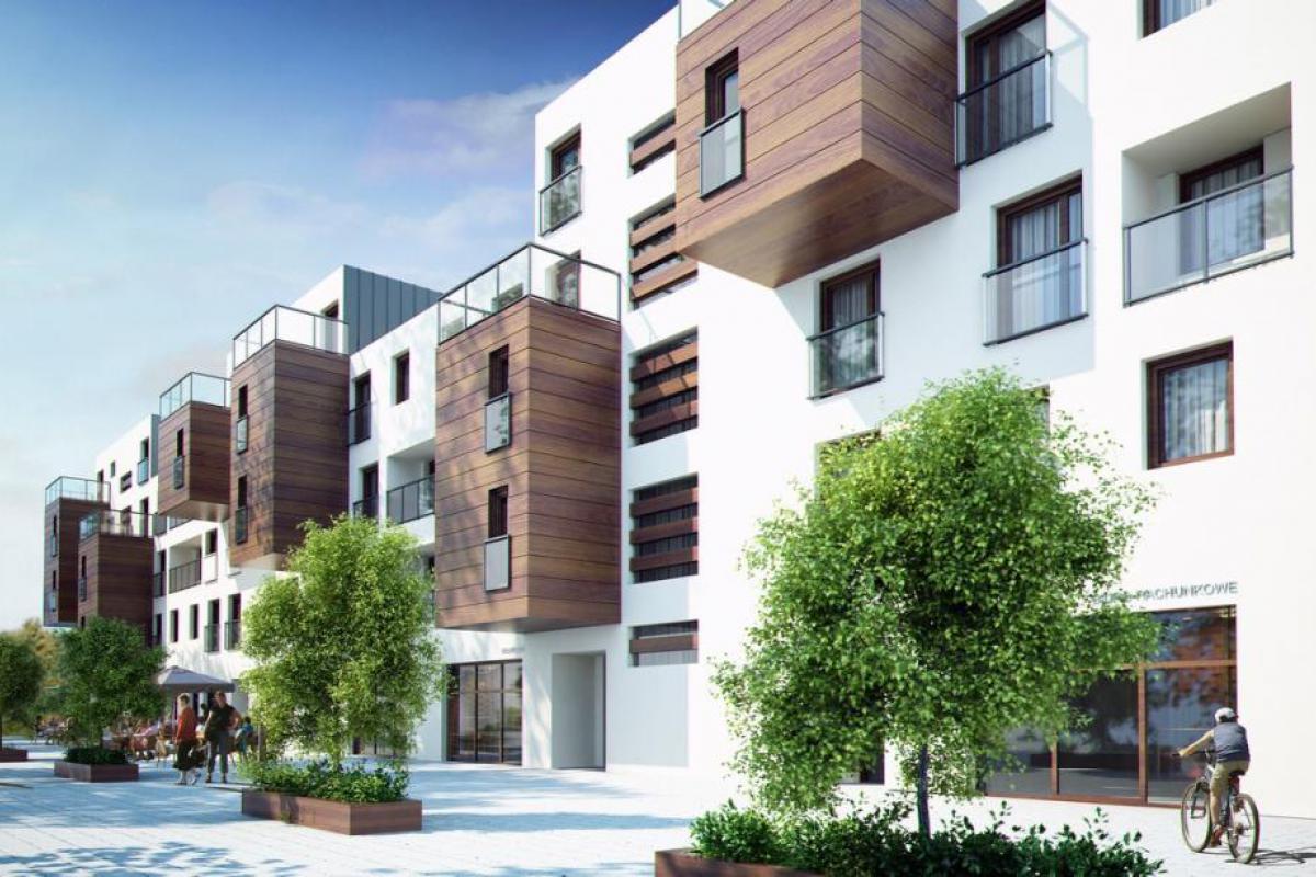 Garnizon Lofty & Apartamenty - Gdańsk, Wrzeszcz, ul. Szymanowskiego, Grupa Inwestycyjna Hossa S.A. - zdjęcie 5