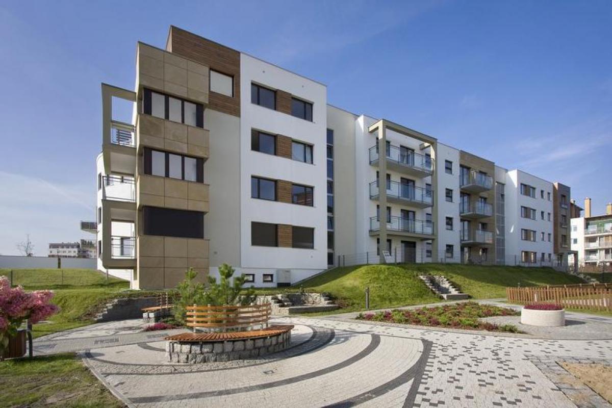 Domy przy Tanecznej - Gdańsk, ul. Taneczna, Grupa Inwestycyjna Hossa S.A. - zdjęcie 2