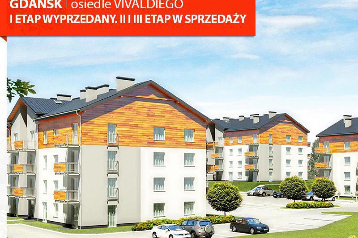 Murapol - Osiedle Vivaldiego - nowe mieszkanie już od 483 zł/miesięcznie - Gdańsk, Zakoniczyn, ul. Niepołomicka 40, Murapol S.A. - zdjęcie 1