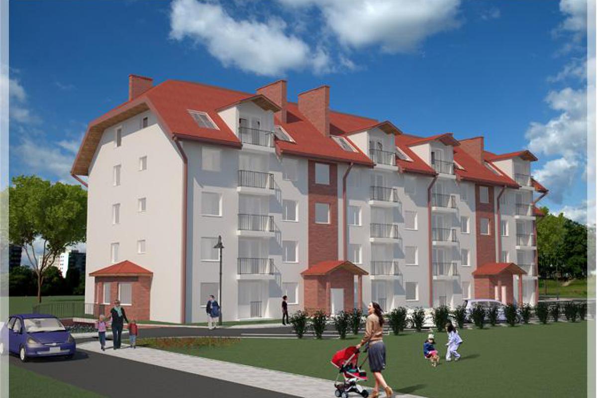 Apartamenty Rzewuskiego - Pruszcz Gdański, Głębokie, ul. Rzewuskiego, Jazbud Artom Dom Sp. z o.o. Sp. kom. - zdjęcie 1