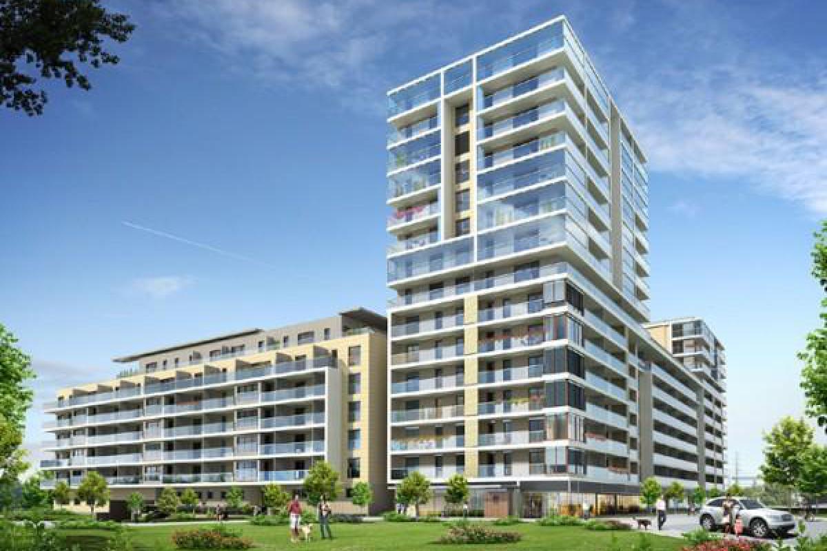 Point House - inwestycja wyprzedana - Warszawa, Al. Wyścigowa 14, Unidevelopment S.A. - zdjęcie 1