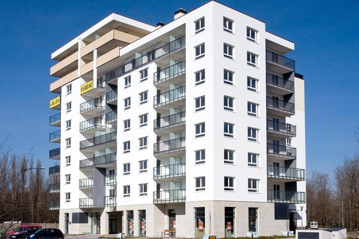 Metrobielany budynek A - Warszawa, ul. Nocznickiego 23, TK Development - zdjęcie 1