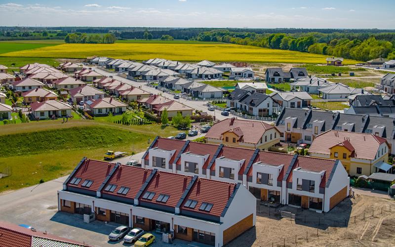 Osiedle Rozalin w Lusówku - Lusówko, Osiedle Rozalin w Lusówku - Novum Plus - zdjęcie 13