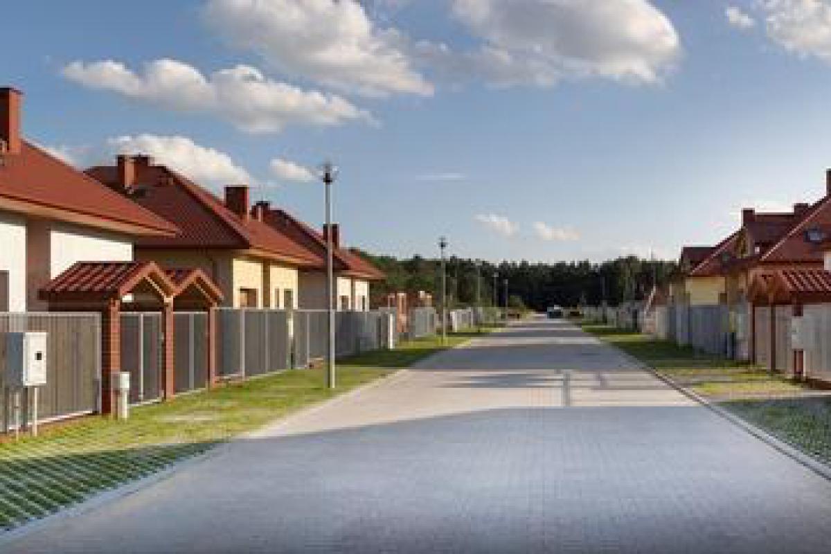 Ogrody Romanów - Łódź, Szatonia, ul. Ogrody Romanów, Prywatna Korporacja Mieszkaniowa Sp. z o.o - zdjęcie 1