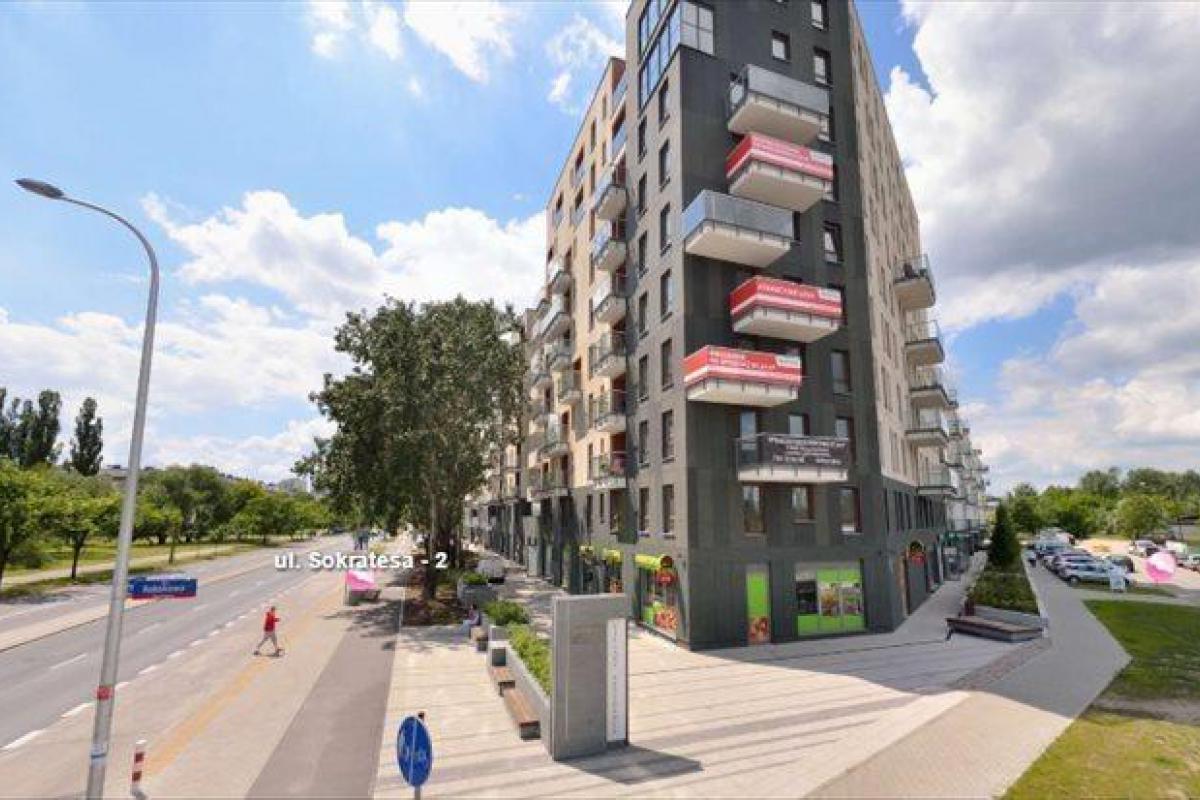 Bielany Residence - Warszawa, Wawrzyszew, ul. Sokratesa 9, Marvipol S.A. - zdjęcie 3