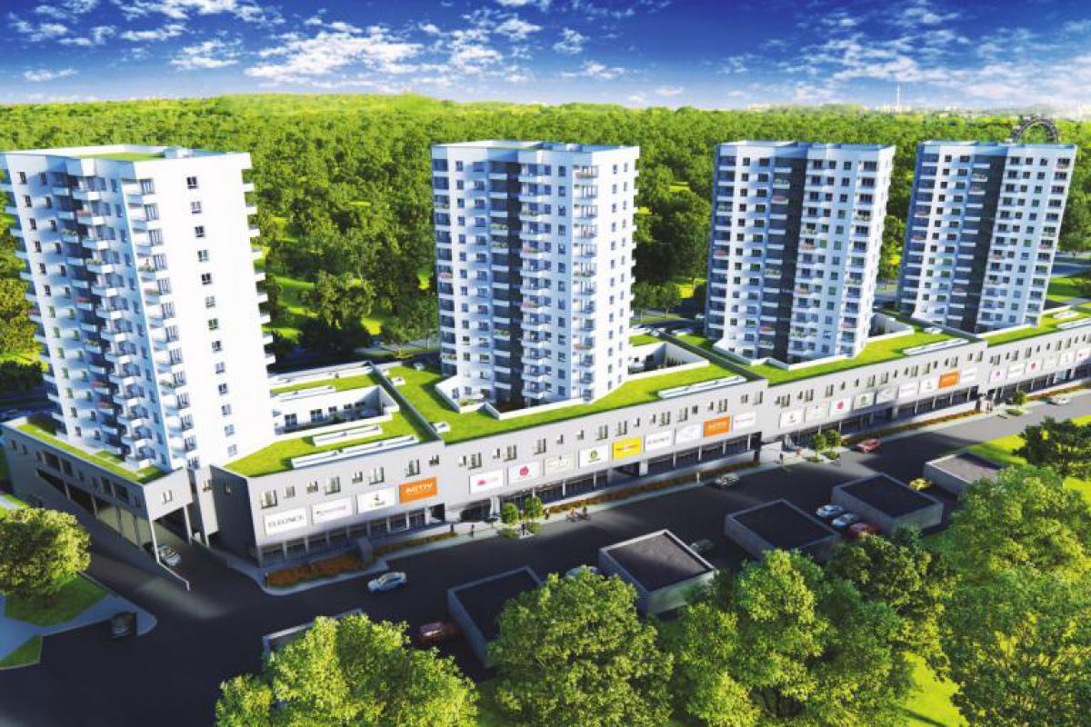 Cztery Wieże - Katowice, Osiedle Tysiąclecia, ul. Chorzowska 216, Activ Investment Sp. z o.o. - zdjęcie 2