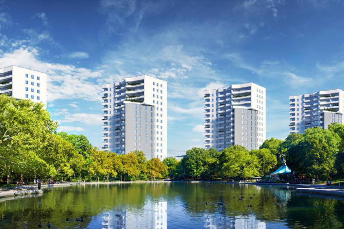 Cztery Wieże - Katowice, Osiedle Tysiąclecia, ul. Chorzowska 216, Activ Investment Sp. z o.o. - zdjęcie 3