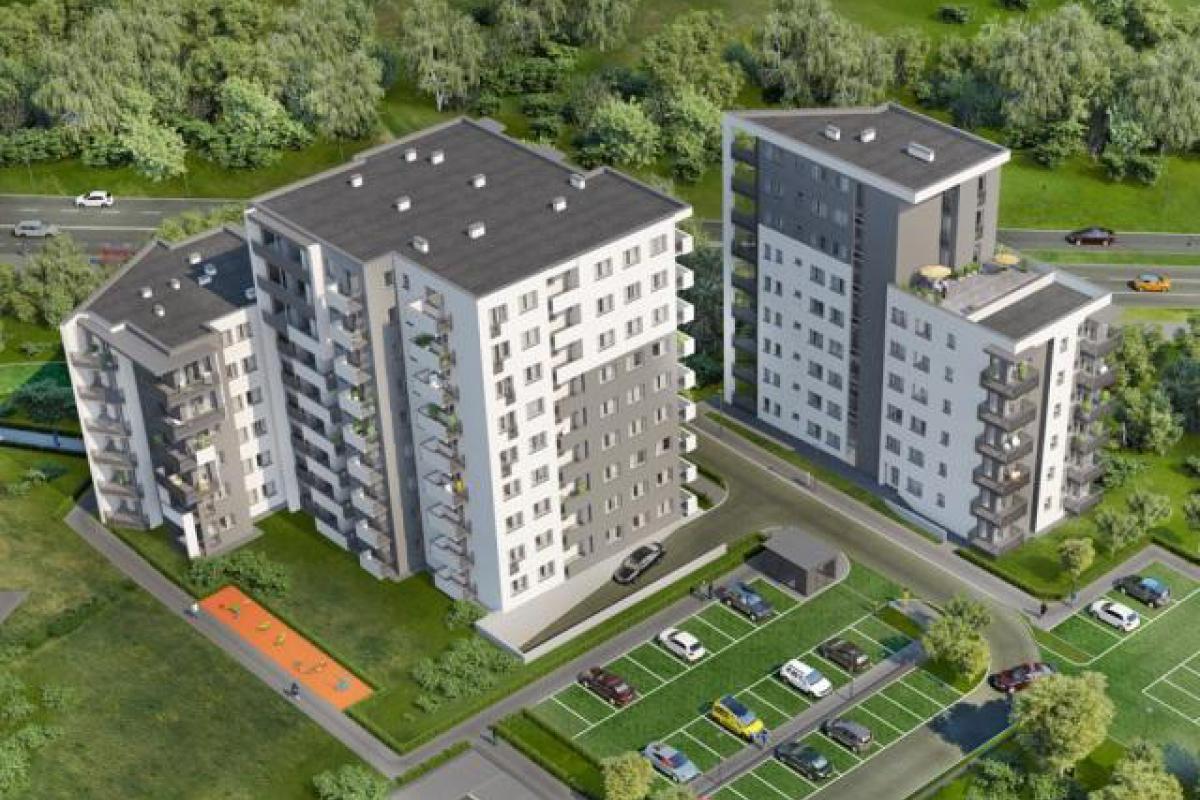 Sky House  - Lublin, Węglin Południe, ul. Jana Pawła II / ul. Granitowej , Wikana S.A. - zdjęcie 1