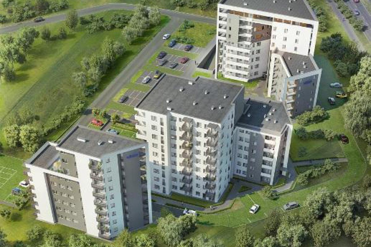 Sky House  - Lublin, Węglin Południe, ul. Jana Pawła II / ul. Granitowej , Wikana S.A. - zdjęcie 2
